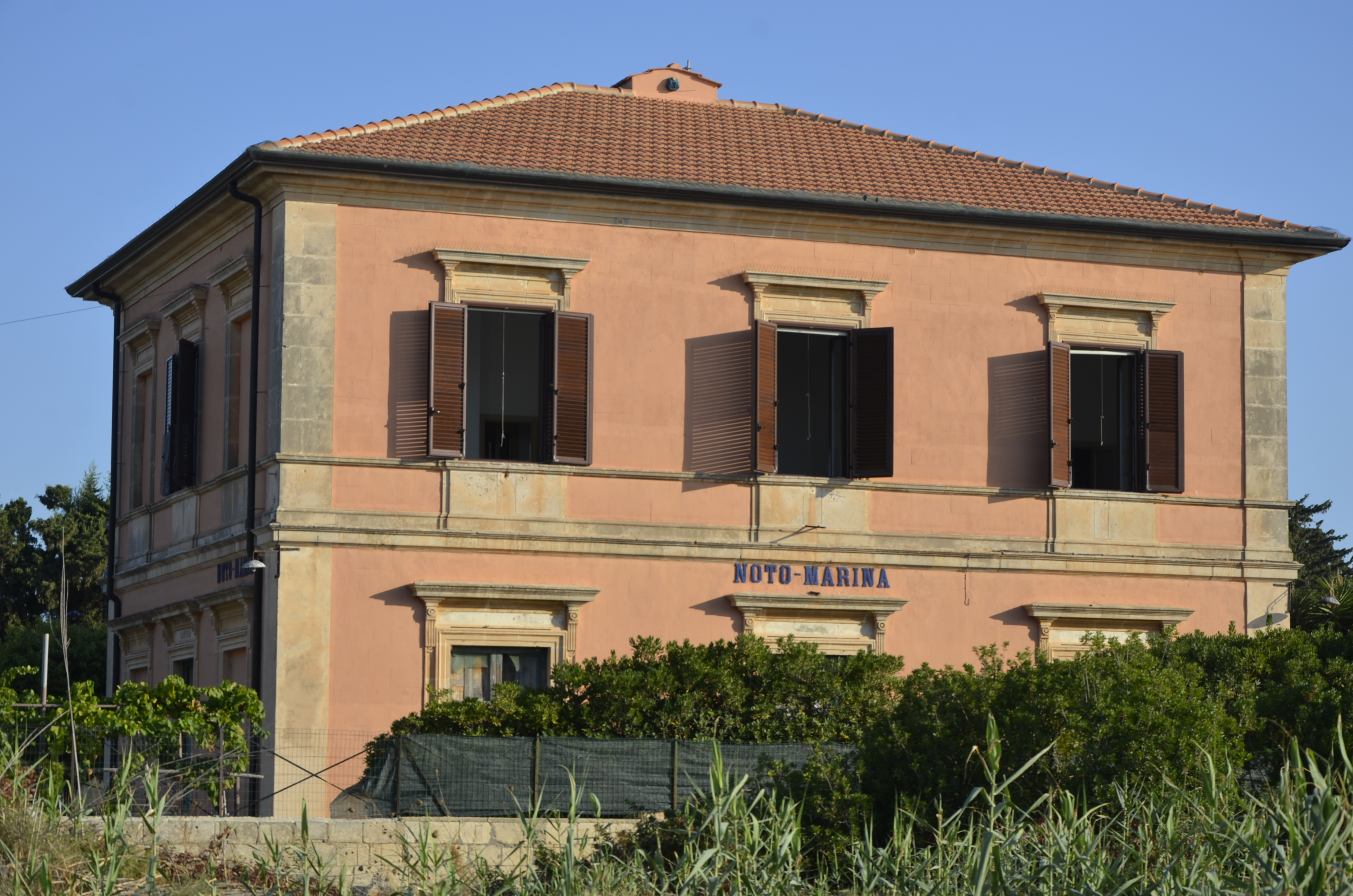 Former Railway Station – Noto Marina